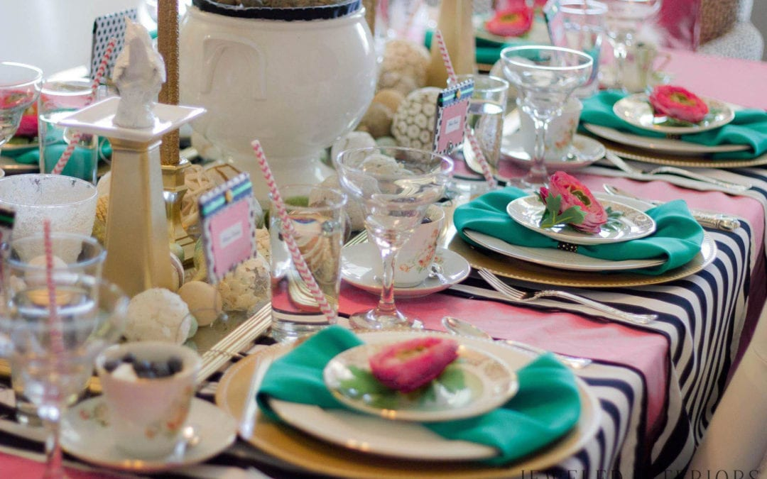 If Kate Spade hosted a Vintage Tea Party…