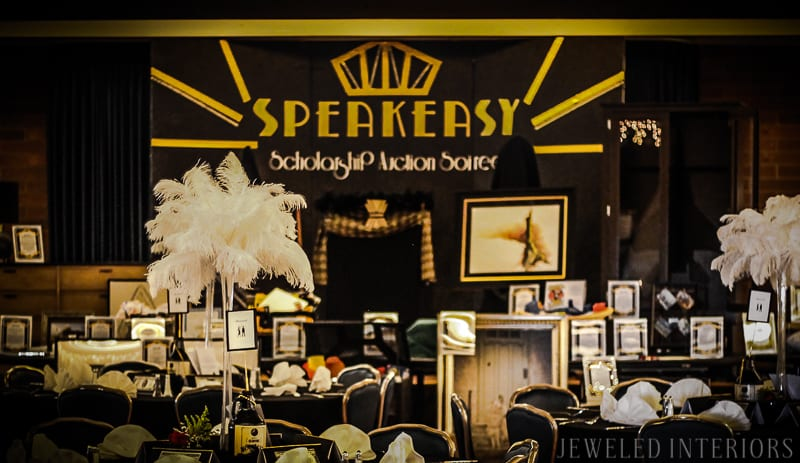 Looking to throw a 1920's Party for the ages? Check this out!   halloween, dress-up, costume, speakeasy, speak, easy, sequins, bar, tommy gun, cigars, flapper, prohibition, charity,  fundraiser, fund, raiser, money, auction, OSC, OCSC, Officers', Spouses', club, military, scholarships, feather, ostrich, boa, fringe, Gatsby,