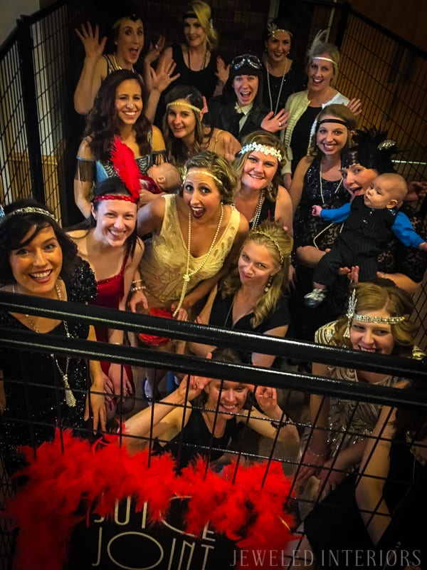 Need roaring decorating and costume ideas for your 1920's Party?  Check this out!   halloween, dress-up, costume, speakeasy, speak, easy, sequins, bar, tommy gun, cigars, flapper, prohibition, charity,  fundraiser, fund, raiser, money, auction, OSC, OCSC, Officers', Gatsby Spouses', club, military, scholarships, feather, ostrich, boa, fringe