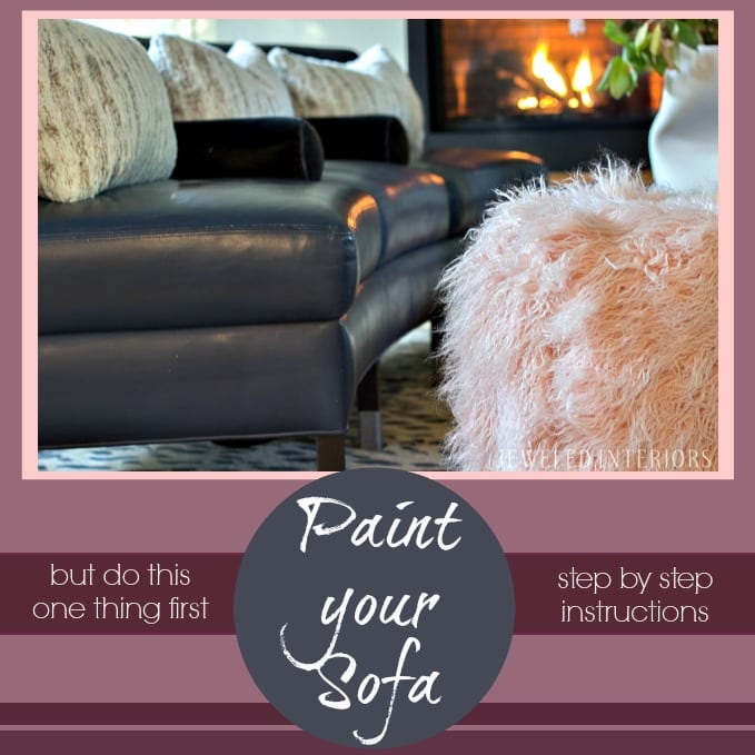 Old World Rugs Albuquerque: How I PAINTED My $100 Craigslist Couches To Look BRAND NEW