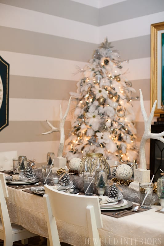 You Have To See This Nature Inspired Holiday Party Rustic Glam