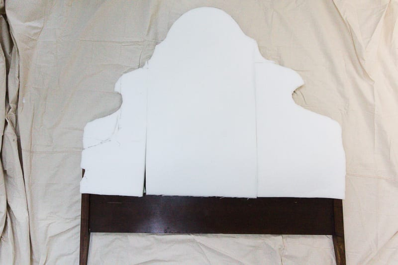 Want to upholster a headboard? Here is how! custom, headboard, custom headboard, Headboard ideas, headboard DIY, Headboard ideas DIY, headboard bench, headboard, DIY headboard, Headboard tutorial, How to upholster a headboard, Headboard with piping, welted headboard, tutorial, DIY, Spoonflower, Cypress Cotton Canvas, review, Jaguar, Emerald headboard, green headboard, emerald, green, girl's room, girl's headboard, preppy, southern,