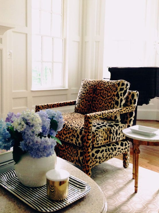 From the right bank, leopard chairs, club chairs, cheetah, Dalmatian print, animal print