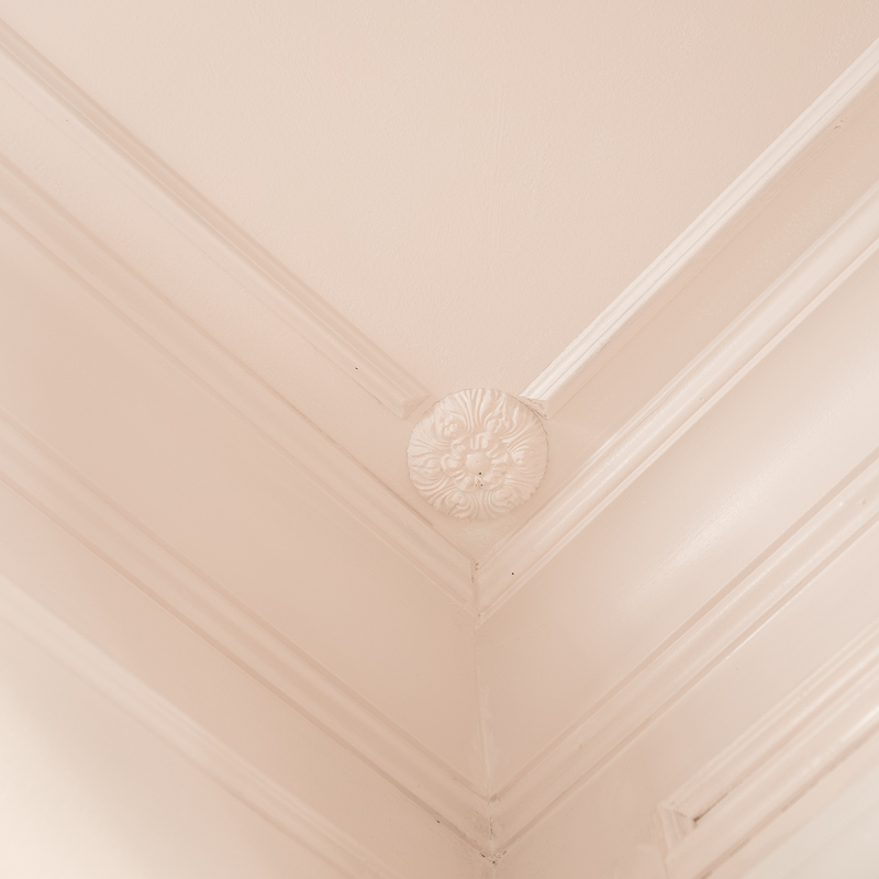 Five Moulding Tricks to Give Height to Your Ceilings, Moulding hack, moulding ideas, moulding tutorial, Jeweled Interiors, metrie moulding, architrave, crown moulding, chair moulding, dado, Farrow and Ball Paint, Panel, mould, mold, moulding, molding, shoe, ORC Week 2, One Room Challenge,