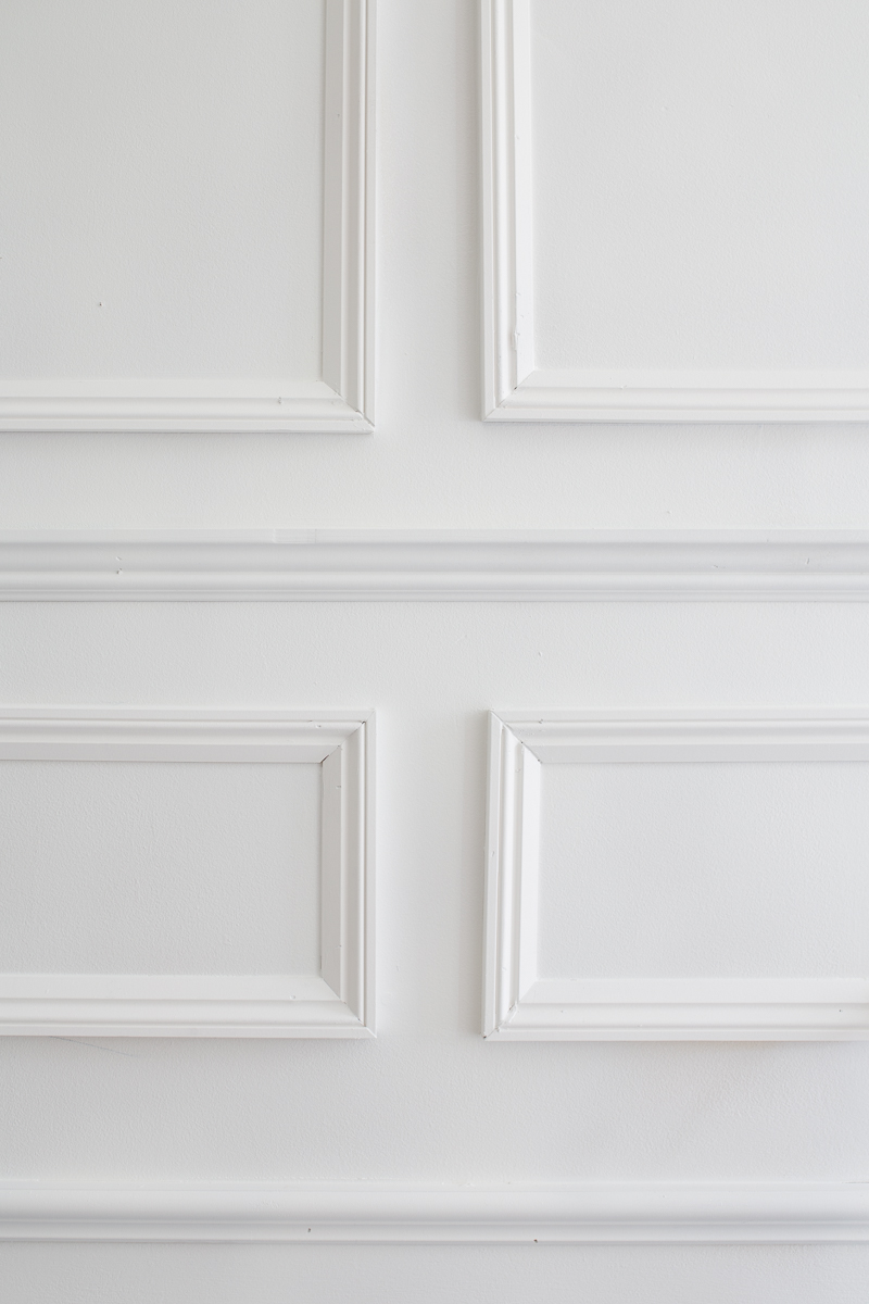 Five Moulding Tricks to Give Height to Your Ceilings, Moulding hack, moulding ideas, moulding tutorial, Jeweled Interiors, metrie moulding, architrave, crown moulding, chair moulding, dado, Farrow and Ball Paint, Panel, mould, mold, moulding, molding, shoe, ORC Week 2