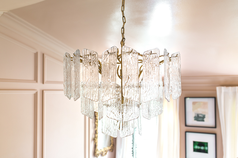 Jeweled Interiors | Piemonte Chandelier Update| ORC WEEK 4