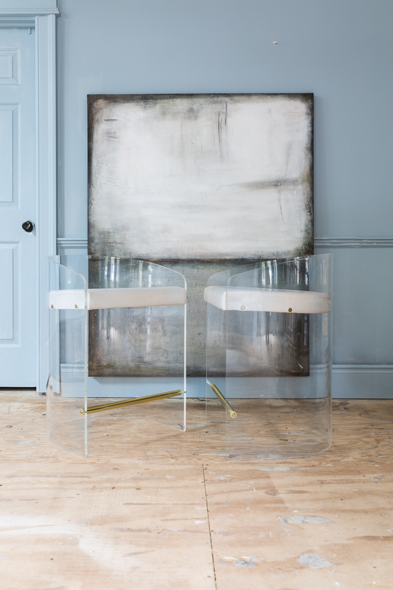 Laura Gunn art for Jewel Marlowe's fall 2019 One Room Challenge Space, Rothko art