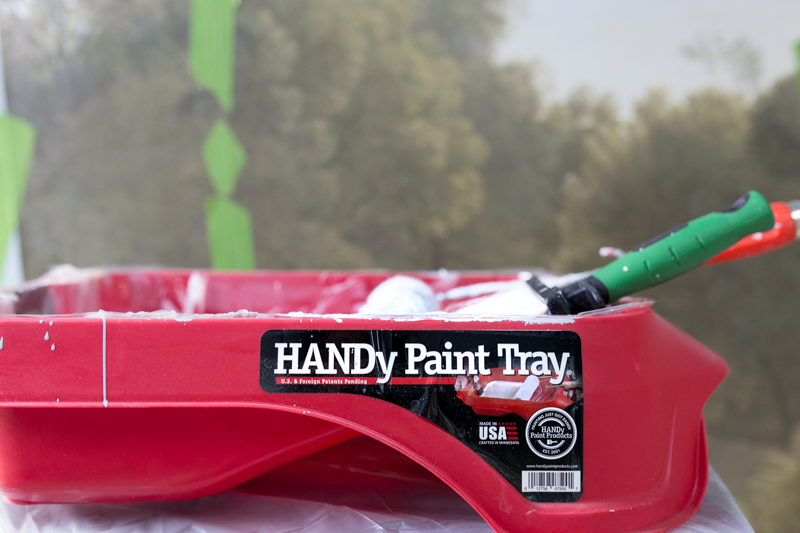 handy paint tray used for wallpaper paste and paint