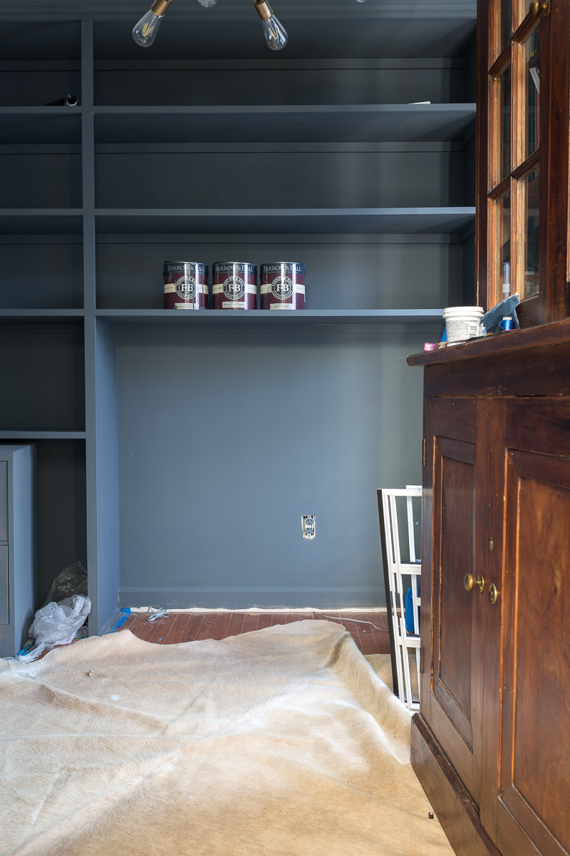 5 tips to using Farrow and Ball Paint, how to pick a color, sheen, primer, Potomac paint and design center, wallpaper
