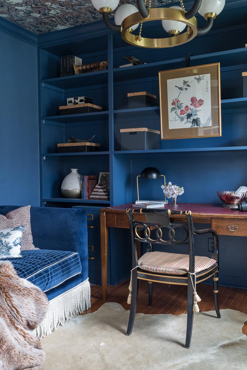 Fastest Farrow And Ball Stiffkey Blue Living Room