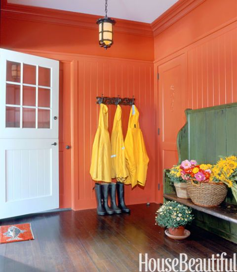 A guide to using Charlotte's Locks Orange Paint, Farrow and Ball, setting plaster, moulding, furniture, Anthropologie, refinish furniture, orange paint, Hermes orange, Hermes paint, orange laundry room