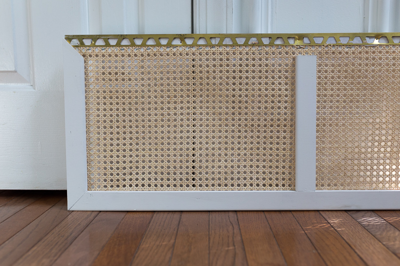 How to build a Tub Front Panel DIY, wicker, tutorial, tub front, DIY wicker bed, budget bathroom makeover, budget bath ideas, bath tub refresh, wicker bathtub front