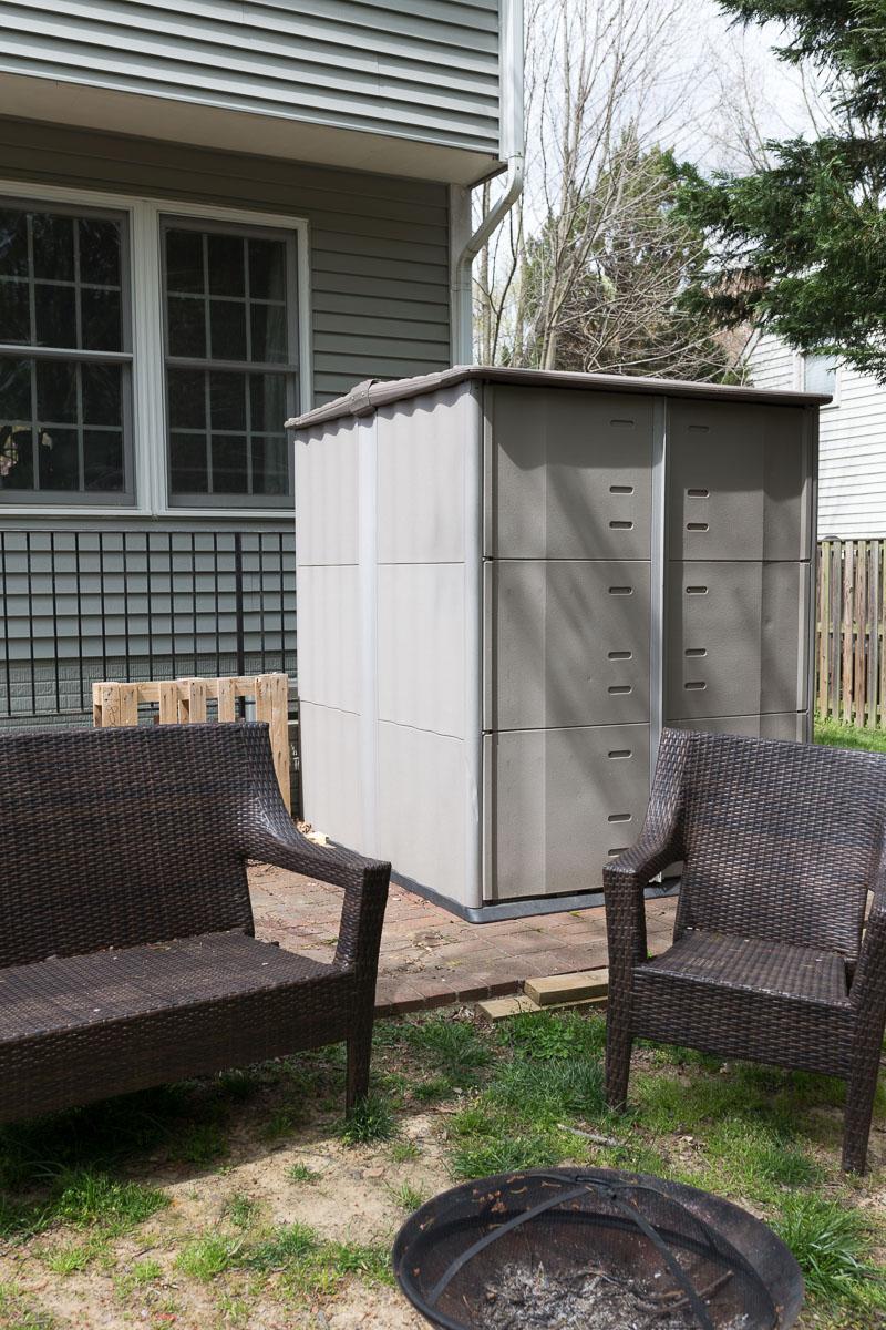 patio ideas, outdoor patio furniture, DIY patio furniture, victorian, bed bench, patio, back yard makeover,