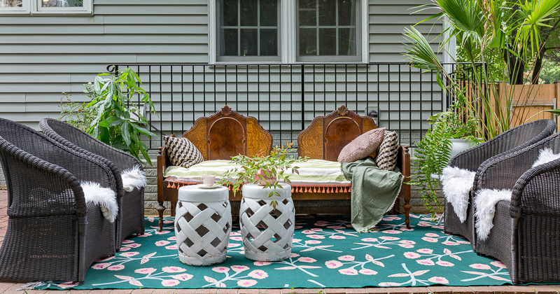 Eclectic Patio Ideas…But will it work?