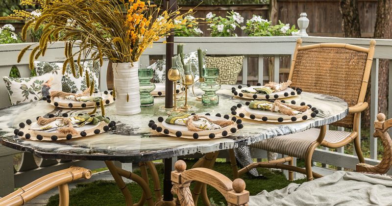 Patio Decorating Ideas- The Big Reveal