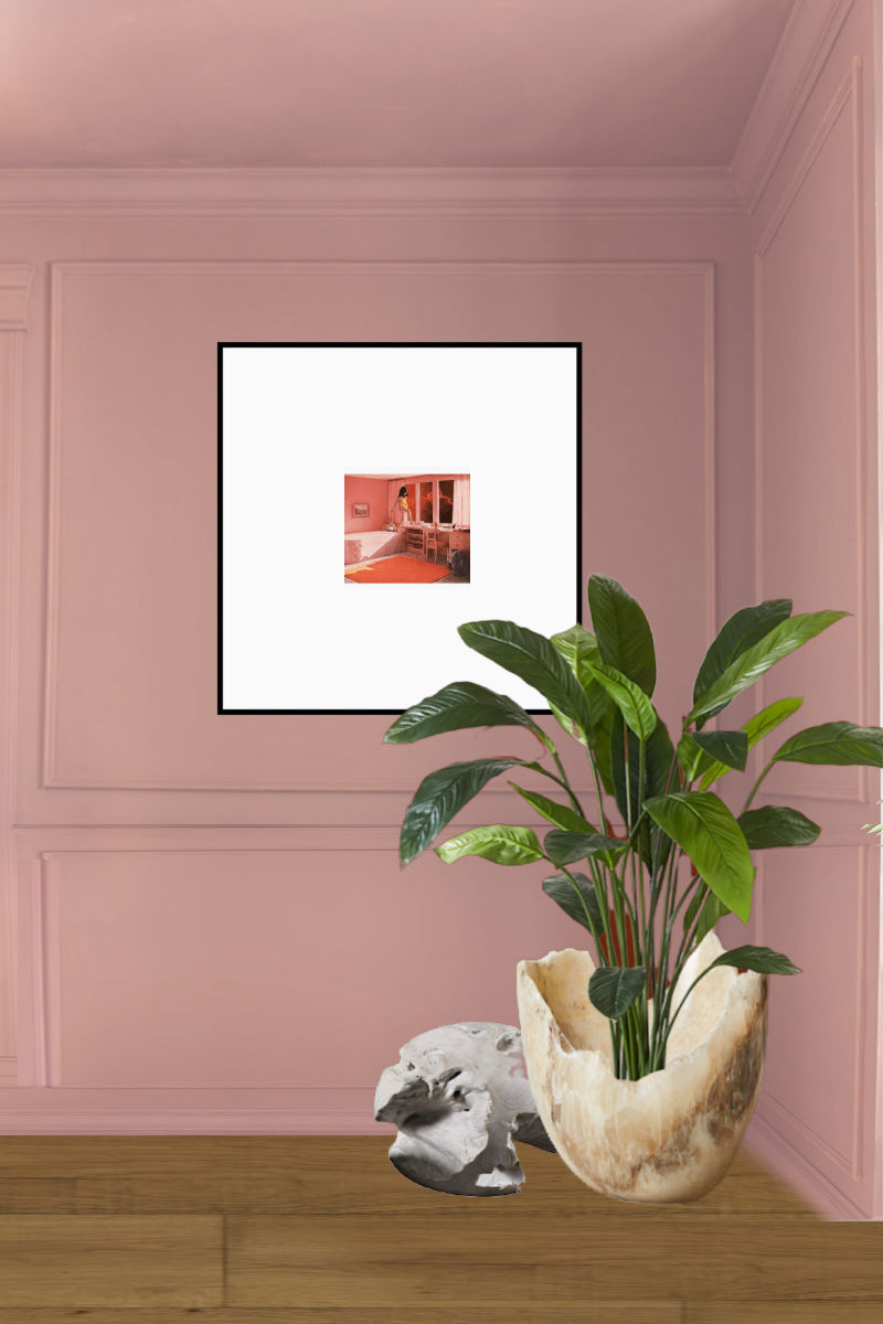sulking room pink, Hinkley, modern sconces, picture light, brass, lamps plus, fall 2020, one room challenge, jewel Marlowe, cb2, azalea, dining room, ikea hack