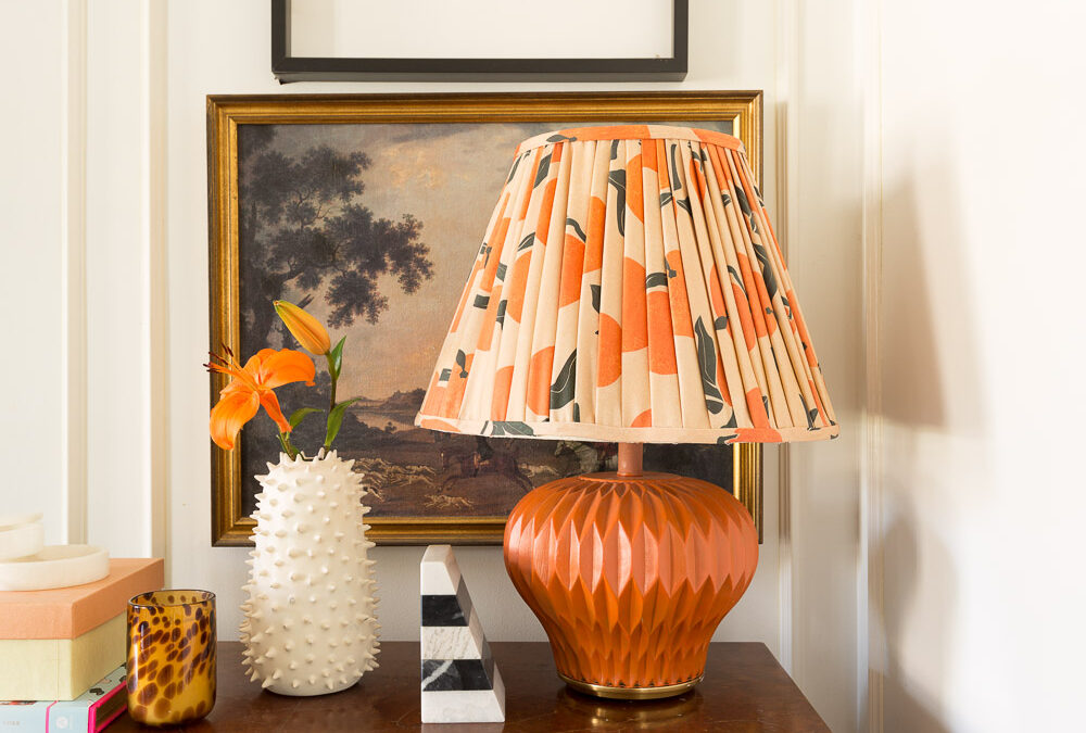 Pleated Lampshade Tutorial