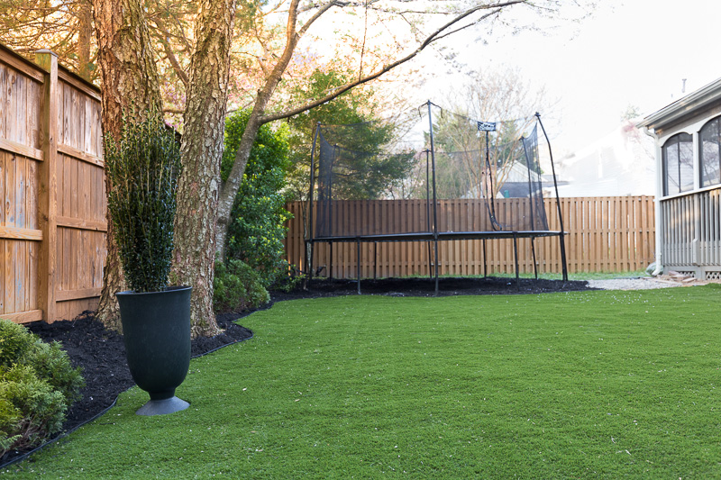 artificial grass, turf, imitation grass, backyard, backyard turf, back yard, makeover, faux grass