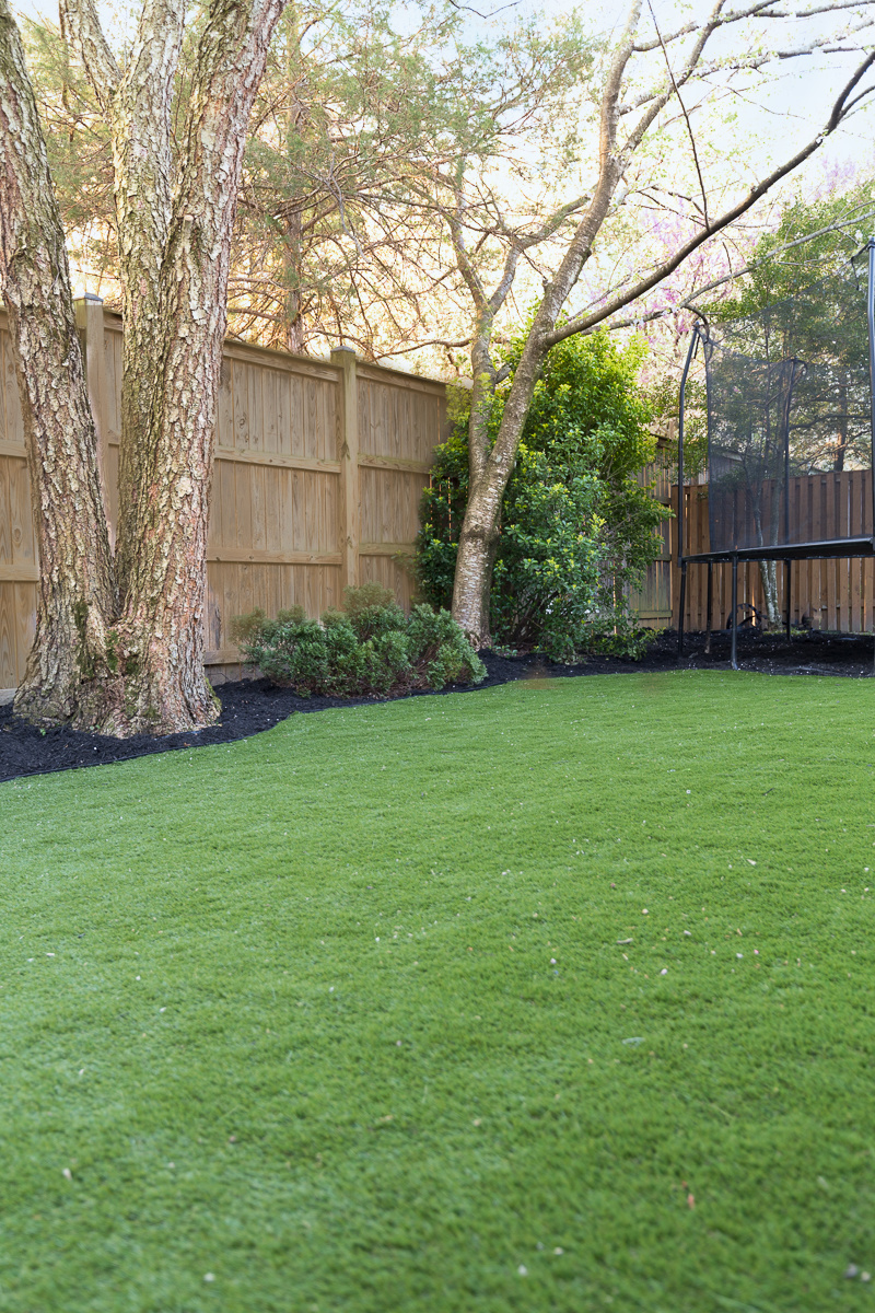 artificial grass, turf, imitation grass, backyard, backyard turf, back yard, makeover, faux grass