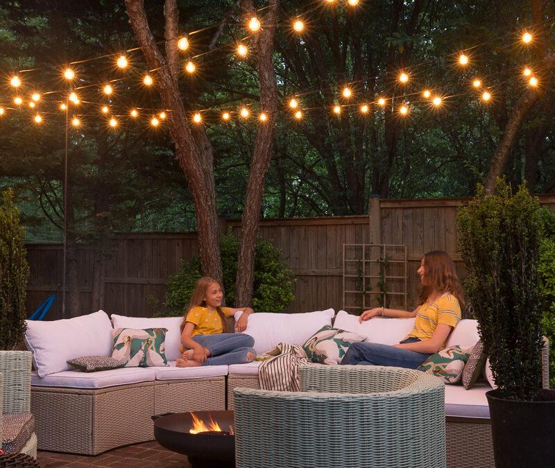 How To  Add Backyard Lighting and Ambiance