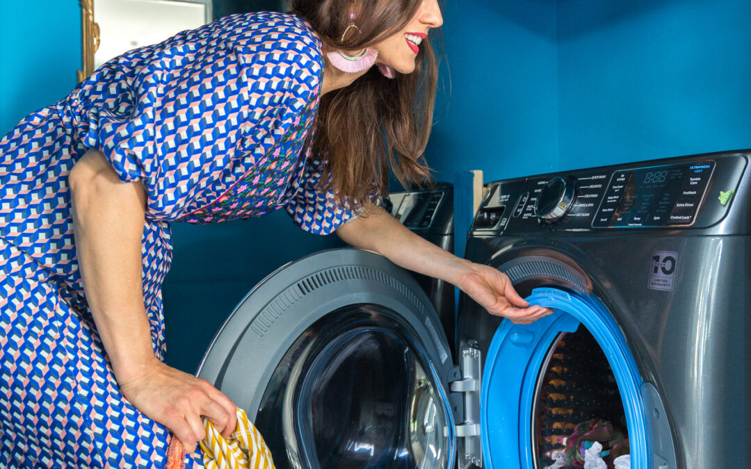 Antimicrobial Washer and Dryer for the Laundry Room
