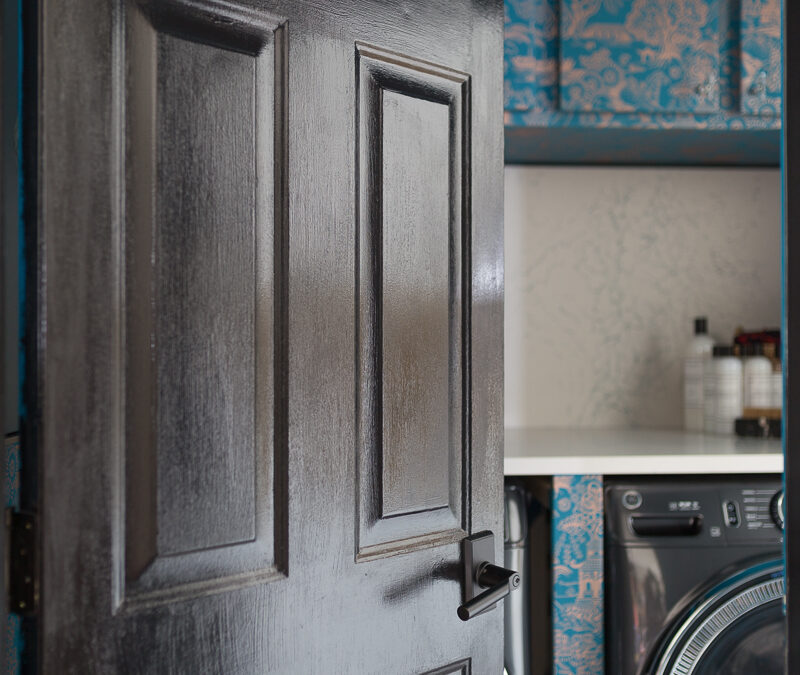 Maximalist Laundry Room Reveal | Spring ORC