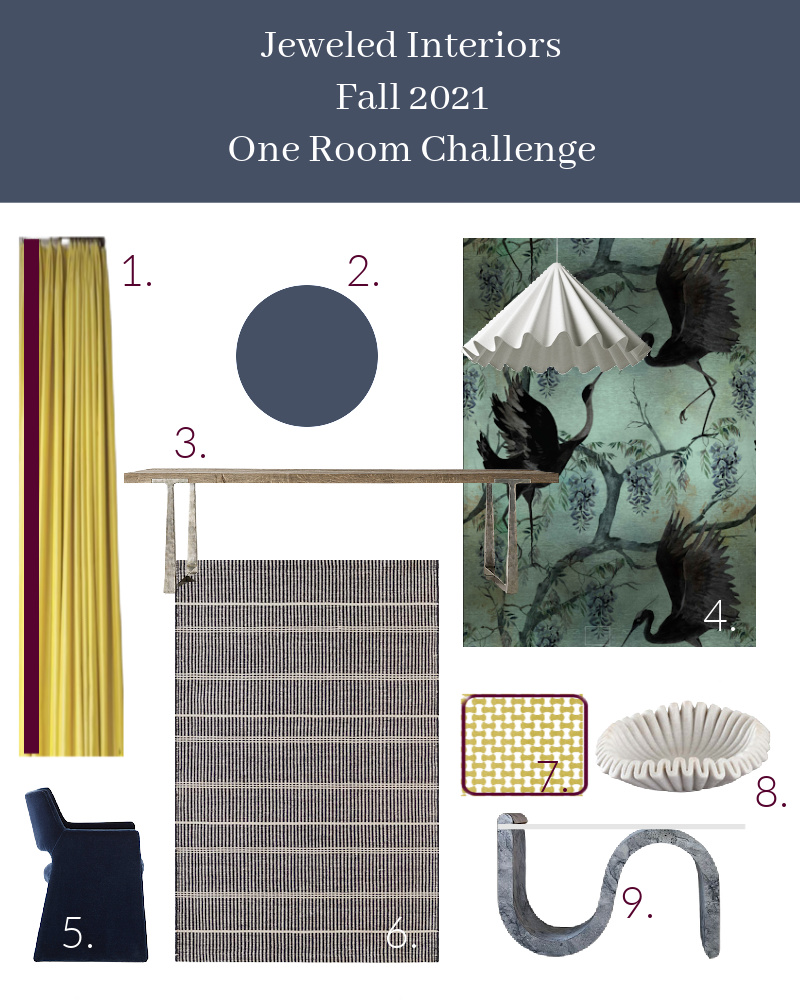 Spring 2021 One Room Challenge source list