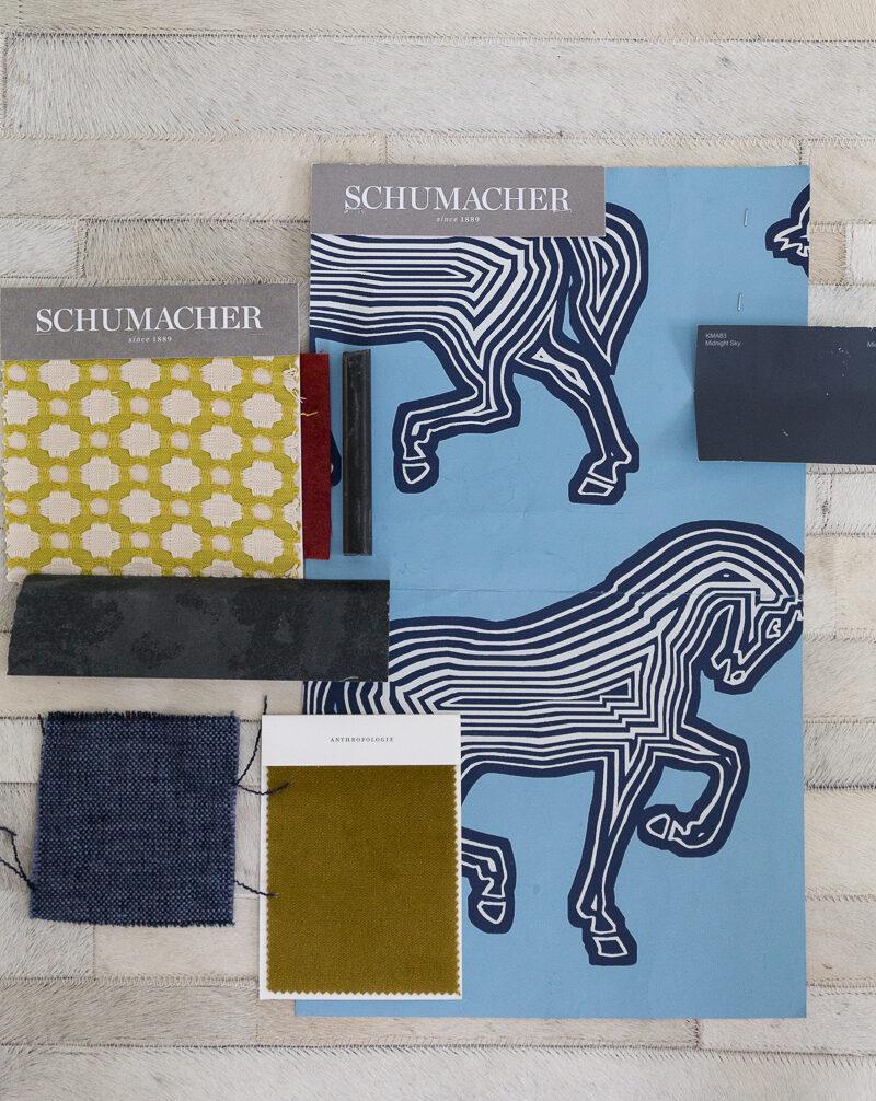 schumacher, couristan plank rug, the tile shop, design details